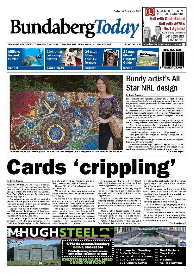 Bundaberg Today – 18th December 2020