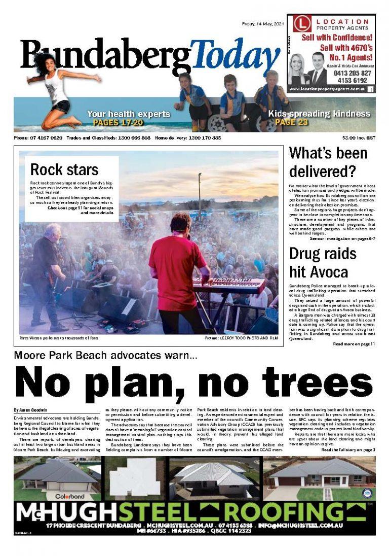 Bundaberg Today – 14th May 2021