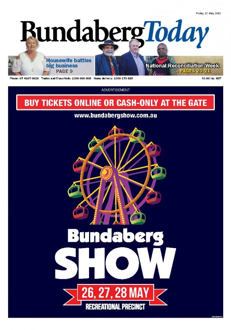 Bundaberg Today – 21st May 2021