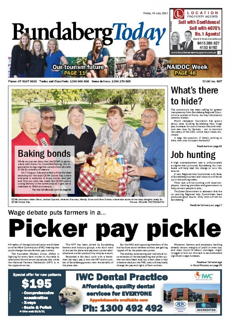 Bundaberg Today – 16th July 2021