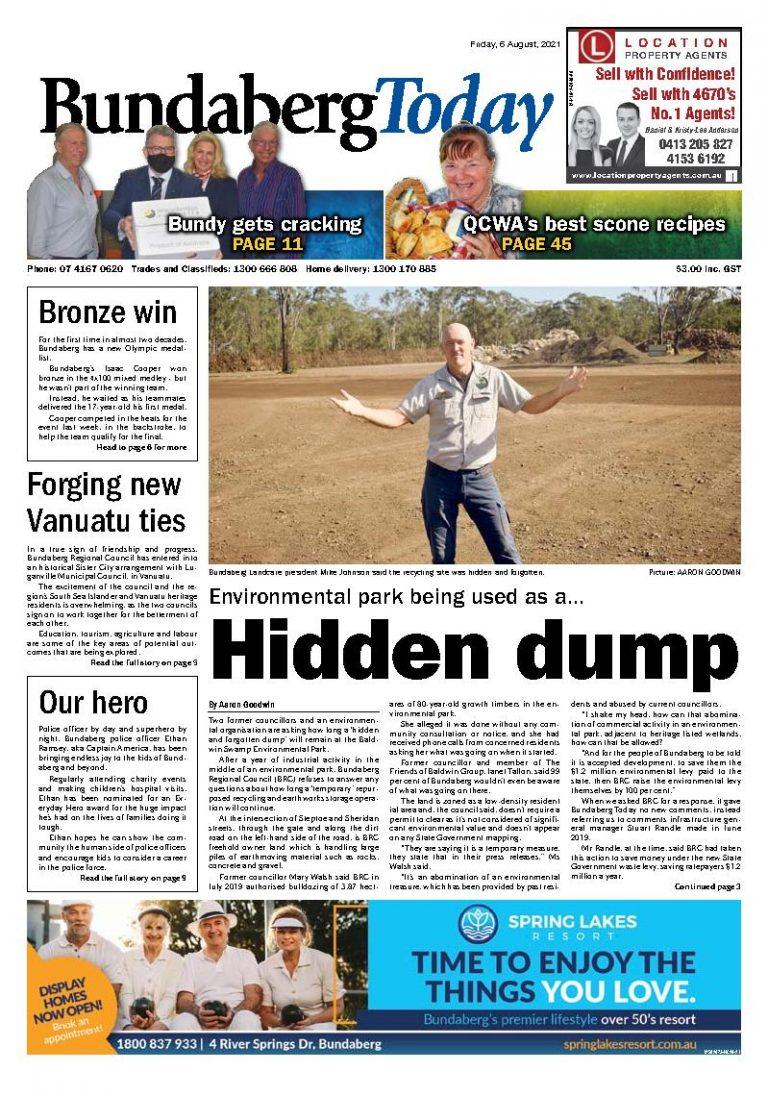 Bundaberg Today – 6th August 2021