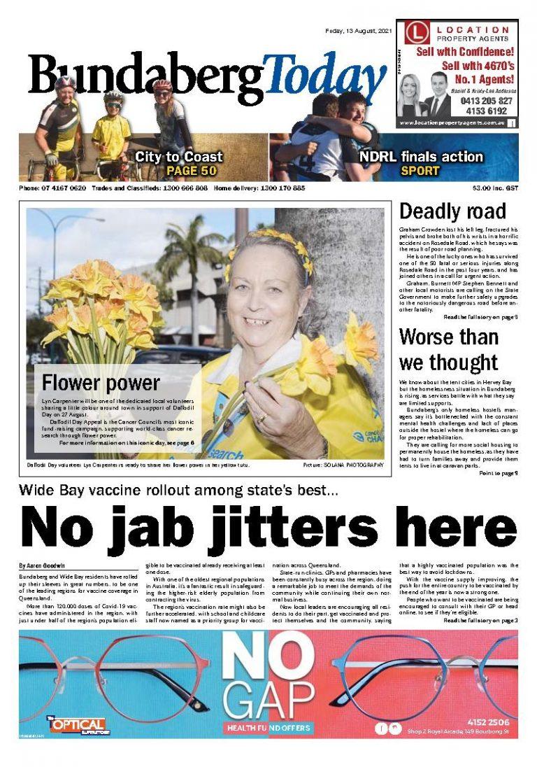 Bundaberg Today – 13th August 2021